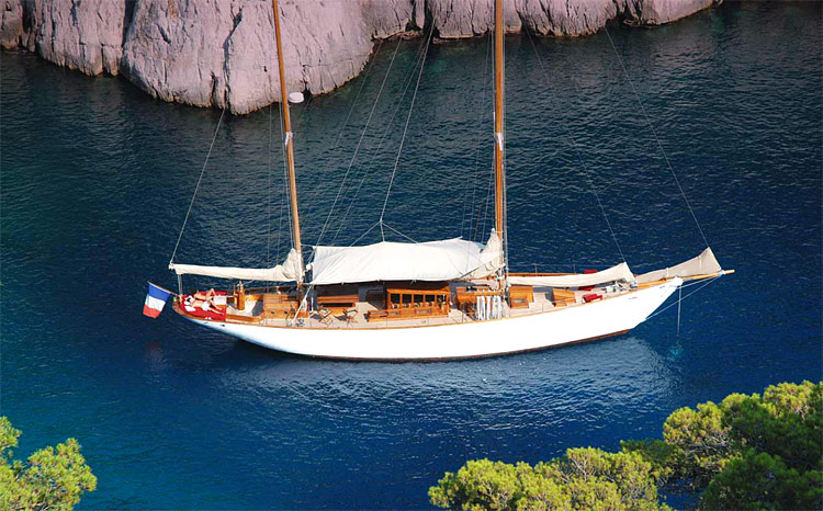 Dormir sur un voilier à Marseille