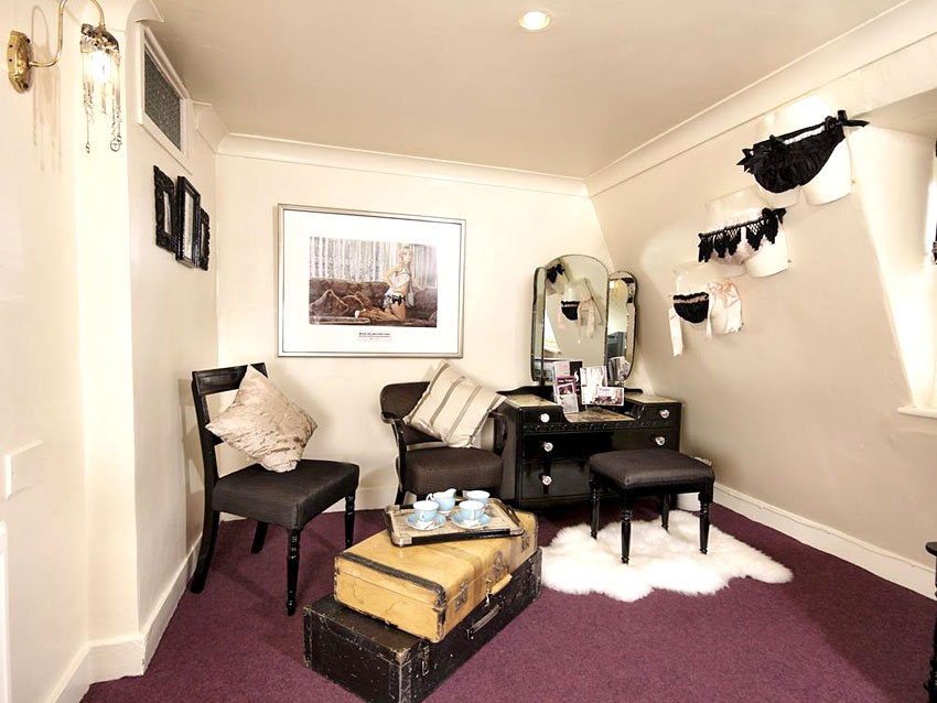 Hotel pelirocco boudoir hotel en angleterre for Boudoir hotel
