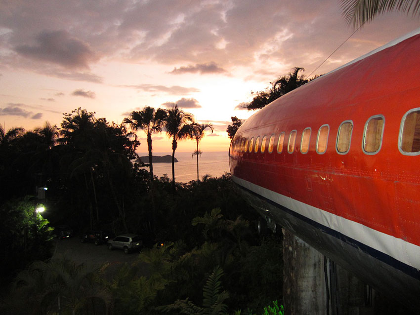 Chambre Theme Montagne : Fuselage home hotel costa verde rica hotels