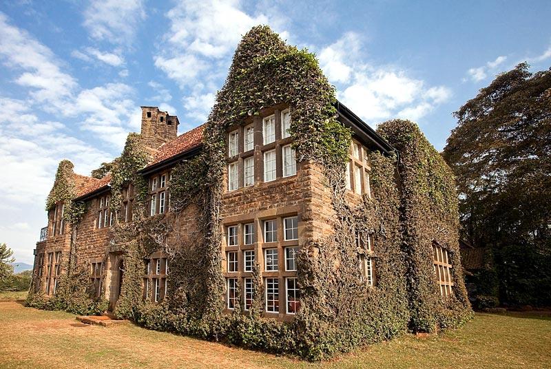 Giraffe manor manoir des girafes hotel insolite au kenya for Hotels insolites