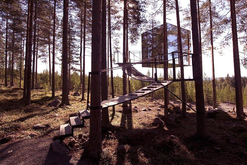 Treehotel (Harads) | Hebergement insolite en Suède | Hotels ...