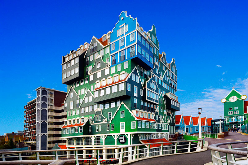 inntel hotel amsterdam zaandam hotel insolite. Black Bedroom Furniture Sets. Home Design Ideas
