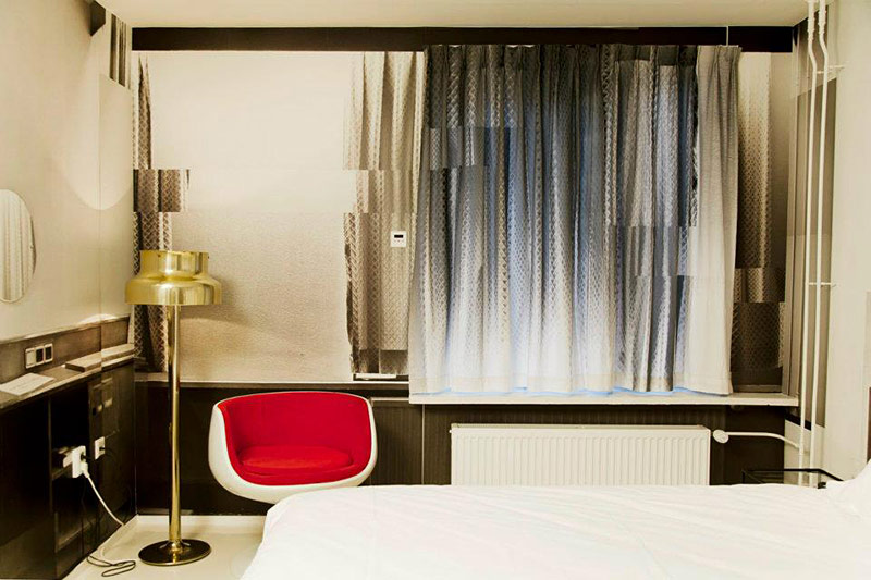 hotel the exchange h bergement insolite amsterdam. Black Bedroom Furniture Sets. Home Design Ideas