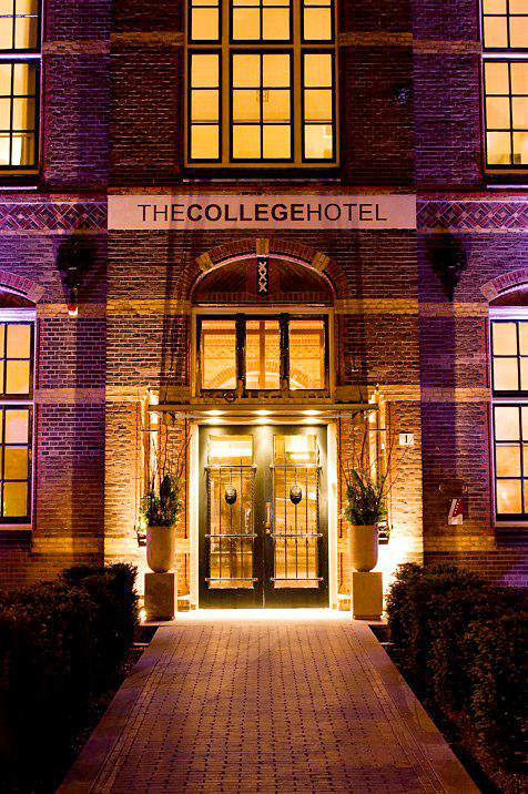The college hotel hotel insolite amsterdam hotels for Hotel insolite