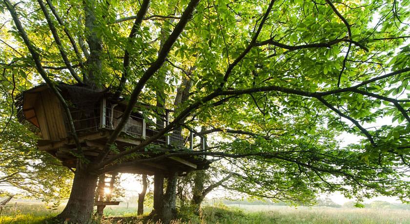 cabanes dans les arbres au dihan nuit insolite en bretagne hotels. Black Bedroom Furniture Sets. Home Design Ideas
