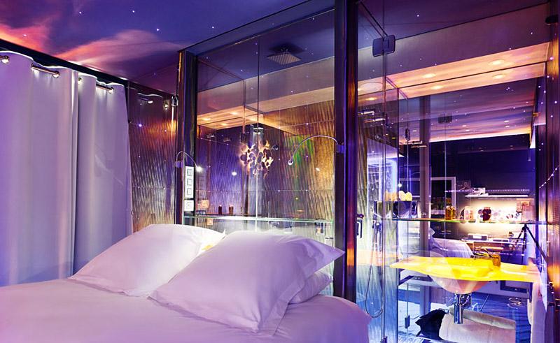 seven hotel paris boutique hotel insolite paris. Black Bedroom Furniture Sets. Home Design Ideas