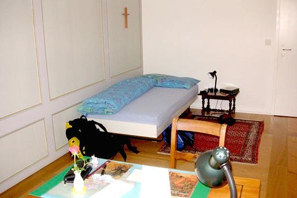 abbaye de la maigrauge dormir dans un couvent en suisse hotels. Black Bedroom Furniture Sets. Home Design Ideas