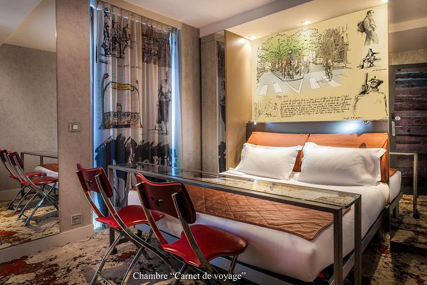 apostrophe hotel boutique hotel sur le th me de la po sie paris hotels. Black Bedroom Furniture Sets. Home Design Ideas