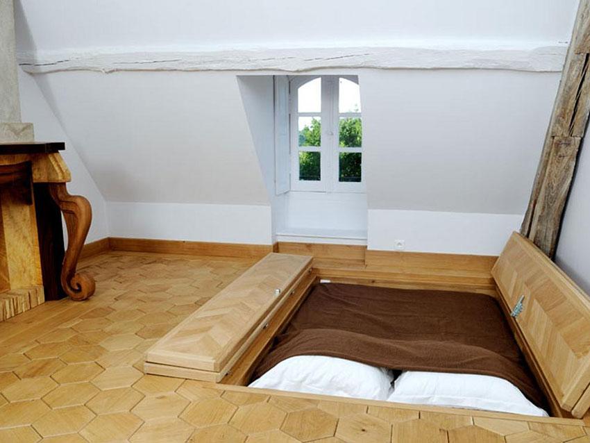 chateau du p chambre d 39 artistes en pays de loire. Black Bedroom Furniture Sets. Home Design Ideas