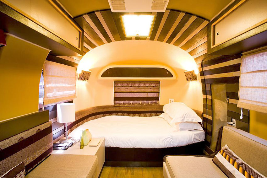 The grand daddy caravane airstream en afrique du sud for Hotels insolites