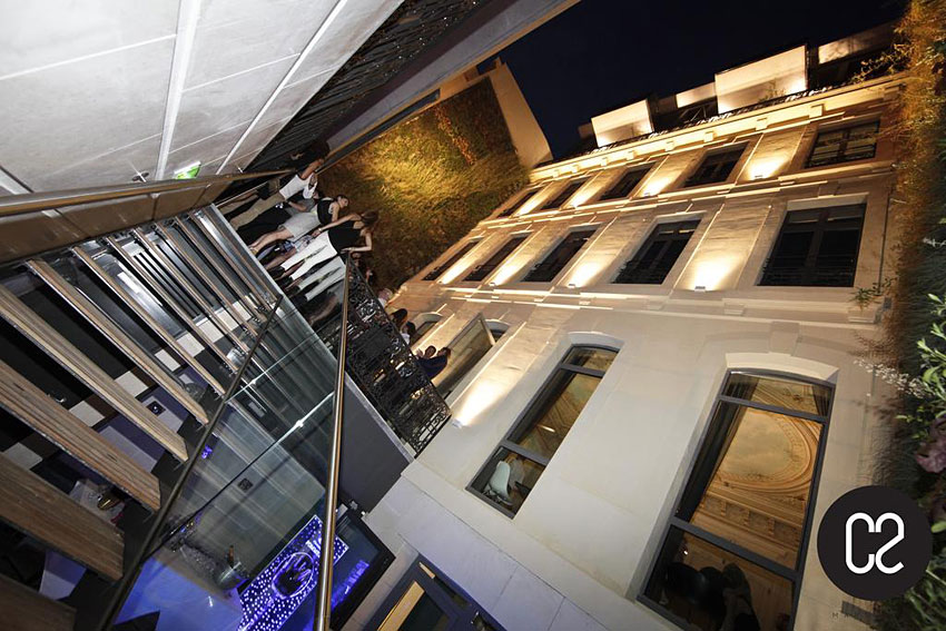 C2 hotel design et insolite marseille for Hotel design marseille