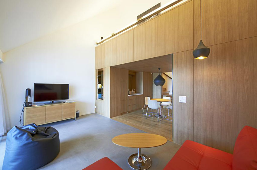 B2 boutique hotel and spa hotel insolite zurich for Hotel insolite
