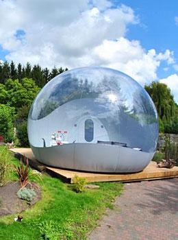 Oxybulle dormir dans une bulle insolite en belgique - Hotel insolite belgique ...