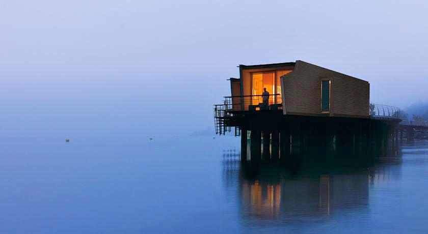 Hotel palafitte hotel insolite sur le lac de neuch tel for Hotels insolites