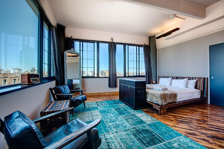 Paper factory hotel hebergement insolite new york for Hotel insolite