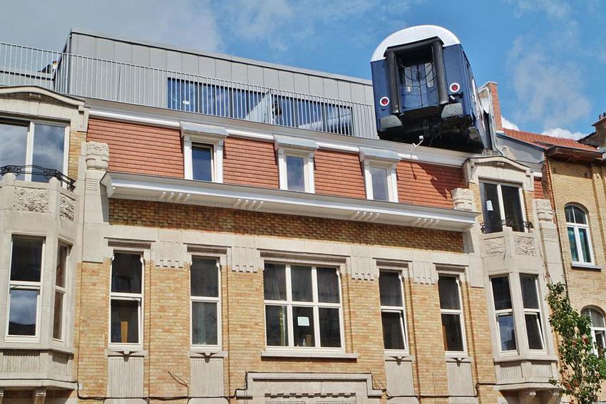 Train hostel bruxelles auberge de jeunesse insolite - Hotel insolite en belgique ...