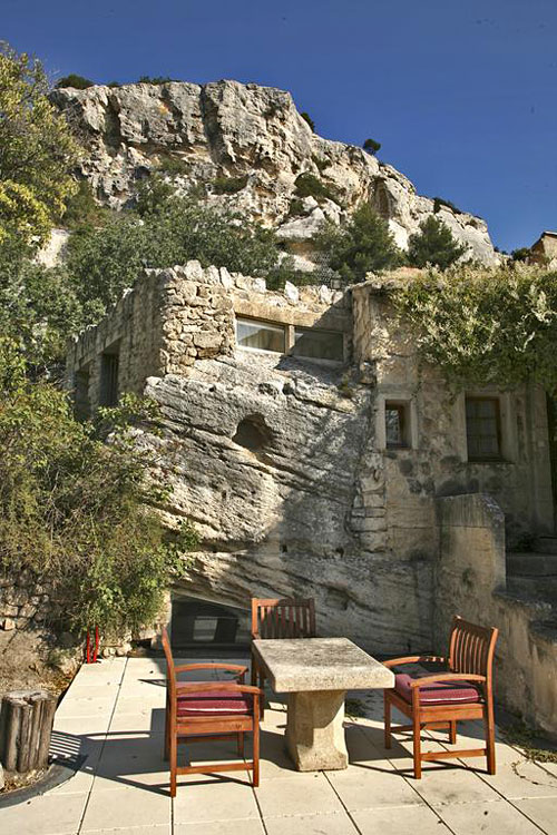 le mas d 39 aigret hotel troglodyte aux baux de provence hotels. Black Bedroom Furniture Sets. Home Design Ideas